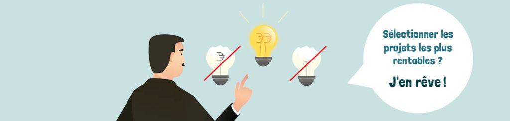 Sélectionner les projets de développement produits les plus rentables