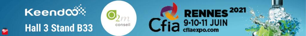 Keendoo sera présent au CFIA avec son partenaire O2M Conseil