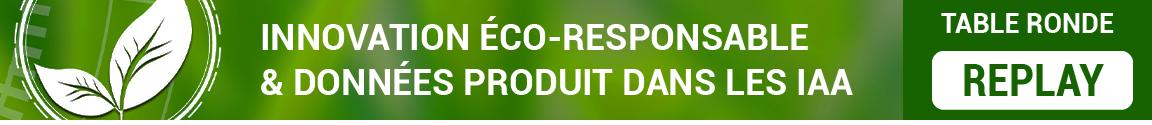 Innovation éco-responsable et données produits : table ronde RIA, Keendoo, O2M Conseil, NumAlim